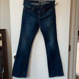 GAP Brand Perfect Boot Jeans - 2 pairs